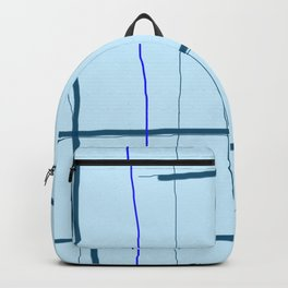 straight lines with a twist no. 5 Backpack
