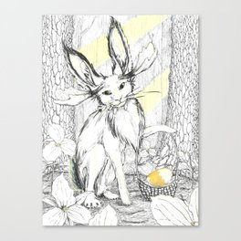 Easter Jackamoose Canvas Print