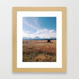 Grand Tetons Framed Art Print