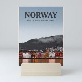 Visit Norway Mini Art Print