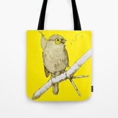 bindlebird is the word Tote Bag