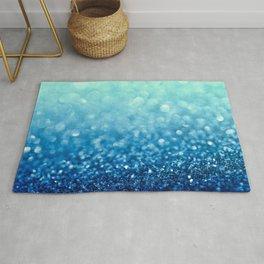 Tell Me True...Ocean Blue Rug