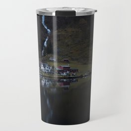 River that vanishes (Fjord) Travel Mug