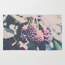 Blackberries Berry Bunch Rug