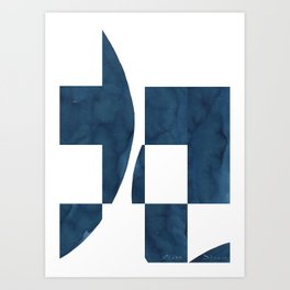 Deconstruction Art Print