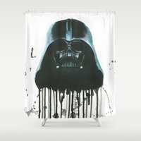 darth vader Shower Curtains featuring Darth Vader by McCoy