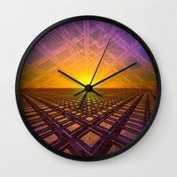 stargate Wall Clocks featuring Stargate by Phil Perkins