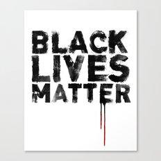 Black Lives Matter Canvas Print