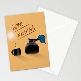 Luke's  day off Stationery Cards