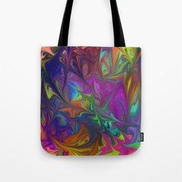 Colors Abstract Fantasy Tote Bag
