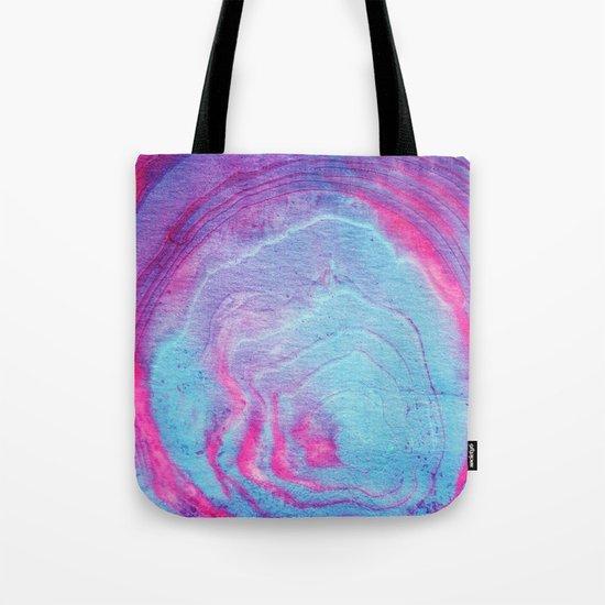 Vibrant marble Tote Bag