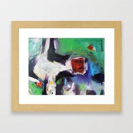 Funky Cow Medina Framed Art Print