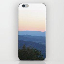 Mountain Blues iPhone Skin