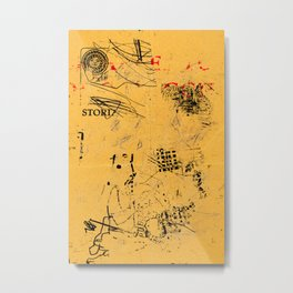 erased 4 Metal Print
