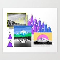 Mountain Study Art Print