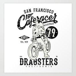 Dragster San Francisco Art Print