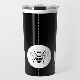 Bee & Moon Phases Travel Mug