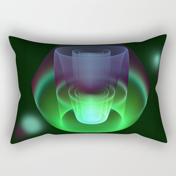 Magic in 3D Rectangular Pillow