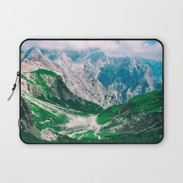 View of the majestic Madeira mountains Laptop Sleeve
