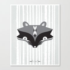The Ra & Mr. Coon Canvas Print