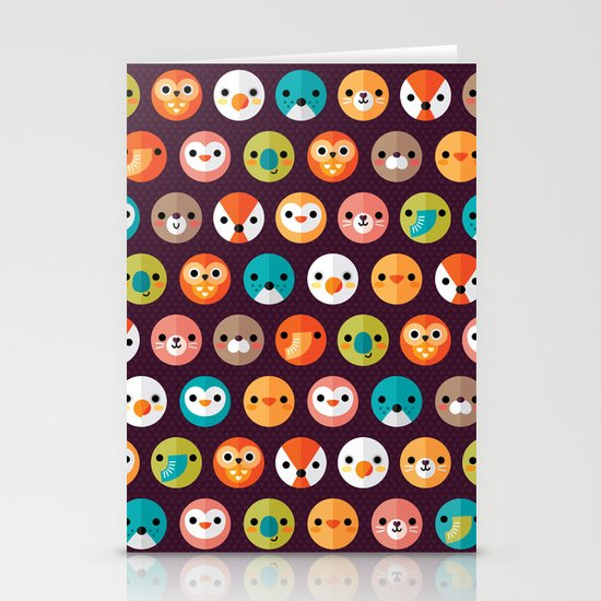 SMILEY FACES 1 Stationery Cards