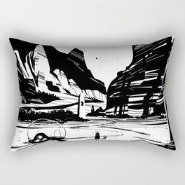 PHAZED landscape sketch Rectangular Pillow
