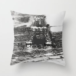 My Cherie Amour... Throw Pillow