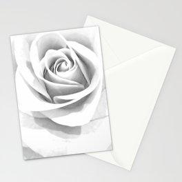 Grey Rose Stationery Cards