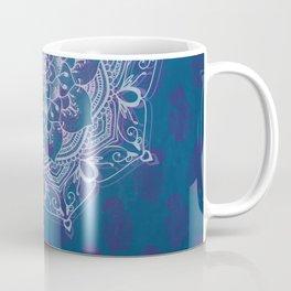 Mandala Blue Purple Coffee Mug