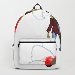 Crazy Zombie Girl Backpack