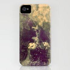 vintage princess iPhone (4, 4s) Slim Case