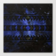 Blue Stellar Dust Canvas Print