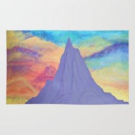 Mt. Hood Sunrise, Pacific Northwest Mountain Series Rug