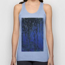 """Claude Monet """"Water Lilies and Weeping Willow Branches"""", 1919 Unisex Tank Top"""
