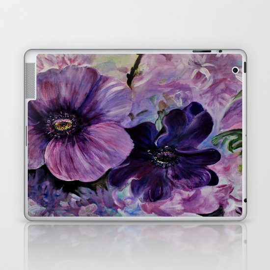 Bleu de printemps Laptop & iPad Skin