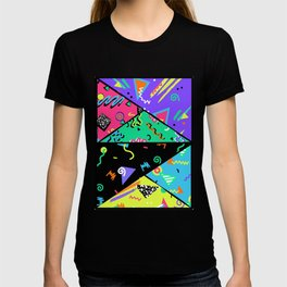 90s Rad Pattern T-shirt