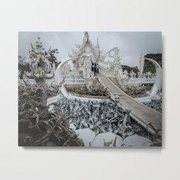 The White Temple - Thailand - 002 Metal Print