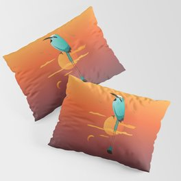 Oklahoma Bird Pillow Sham