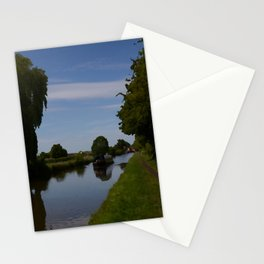 English Canal Scene Stationery Cards