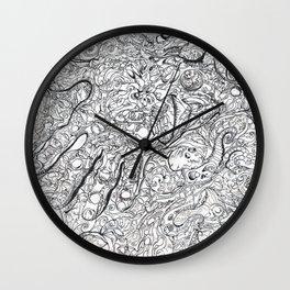 ' OctaSquidz ' By: Matthew Crispell Wall Clock