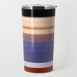 Pixelated Humanoid Travel Mug