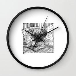 PugLove Wall Clock