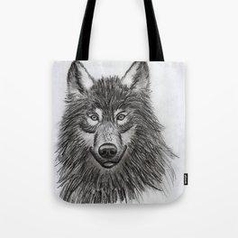 Wolf // #ScannedSeries Tote Bag