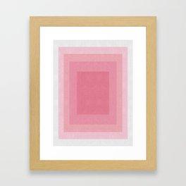 Minimalist geometry XI Framed Art Print