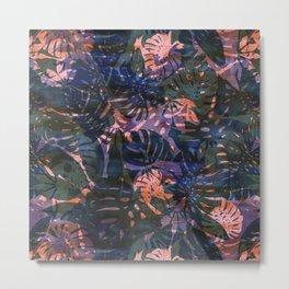 Motuu Tropical Olive Metal Print