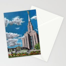 Oquirrh Mountain LDS Temple Stationery Cards