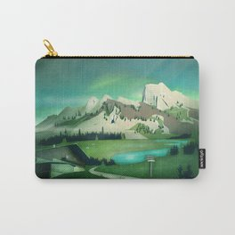 Alpine Enchantment Carry-All Pouch