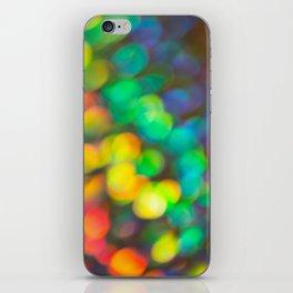 Rainbow Bokeh 1 iPhone Skin