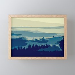 Serene and Beautiful Landscape Framed Mini Art Print