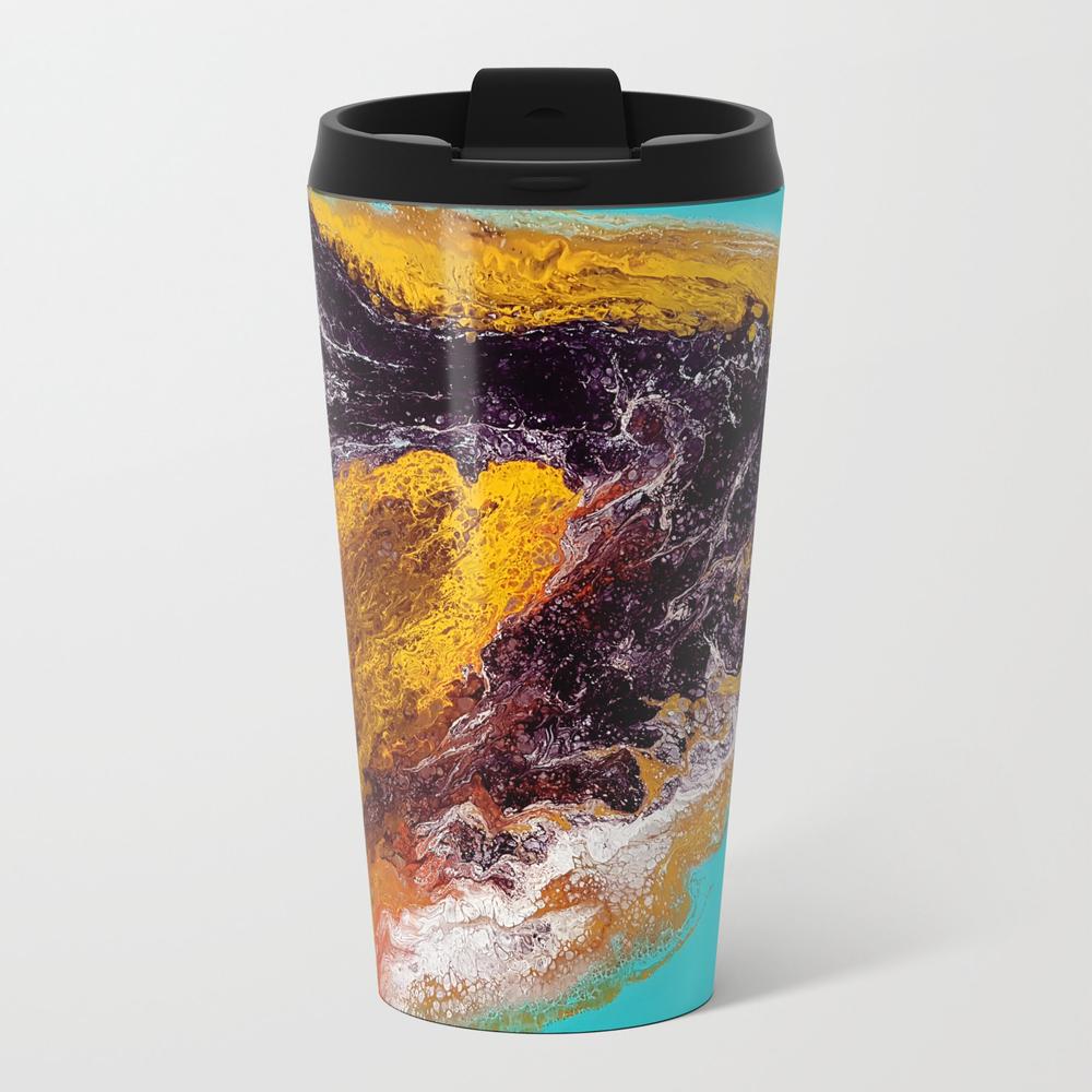 Dolphin, Acrylic Durty Cup, Abstract Travel Mug TRM7923890